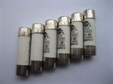 40 Pcs Powder Filled Cartridge Cylindrical Ceramic Fuse 16A 380V 8.5mm x 31.5mm