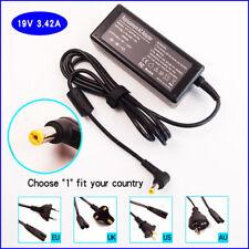 Laptop AC Power Adapter Charger for Gateway NV5815U M465 NV5216U NV5331U