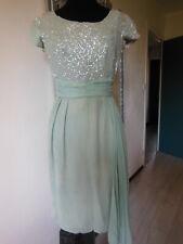 ANCIENNE ROBE Année 50 robe de bal pour patron deco taille 36/38