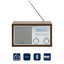Blaupunkt DAB+ Digital Radio Küchen Retro Radio Bluetooth UKW Holz Gehäuse