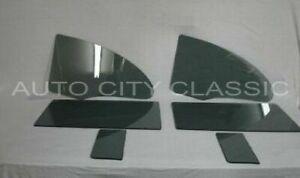Glass for 1955 1956 1957 Chevrolet 2 Door Hardtop Pontiac Vent Door Quarter Grey
