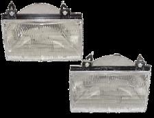 92 93 94 Tempo Topaz Left & Right Headlight Headlamp Lamp Light Pair L+R