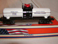 Lionel 6-39388 U.S.A. National Guard Tank Car O 027 2014 Armed Forces Collection
