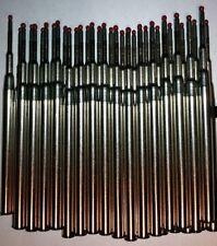 5 - GEL Ballpoint Refills for MONTBLANC PEN - BLACK NOIR