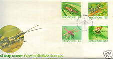 FDC S'pore definitive insects (high value) 5.6.1985