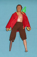 "vintage Mego WORLD'S GREATEST SUPER PIRATES pirate 8"" LONG JOHN SILVER"