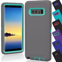 Samsung Galaxy Note 8 Case Cover TPU Shockproof Hybrid Hard Rugged Rubber TPU