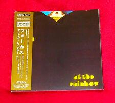 Focus At The Rainbow MINI LP CD JAPAN VICP-63666 Jan Akkerman