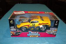 1969 Camaro Yellow 1:18 Muscle Machines Die cast Race Car Pro Street
