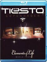 TIESTO - COPENHAGEN (ELEMENTS OF LIFE) 2 BLU-RAY NEUF