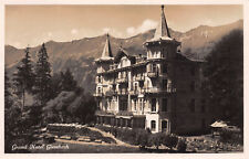 R238154 Grand Hotel Giessbach. Schild Bichsel. Brienz. Fabrication suisse