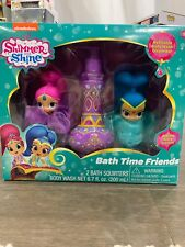 Shimmer and Shine Bath Time Friends Gift Set Body Wash 2 Bath Squirters