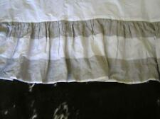 Twin Bed Skirt S handcrafted Linen high end quality Flax Natural