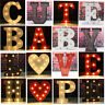9'' & 12'' LED Marquee Alphabet Letter Lights Vintage Circus Style Light Up
