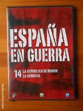 DVD ESPAÑA EN GUERRA 14 - LA REPUBLICA SE HUNDE - LA DERROTA - CAJA SLIM (P3)
