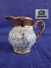 Bavaria CREAMER with Heavy gold gild, Embossed rim & base, Gold scrolls