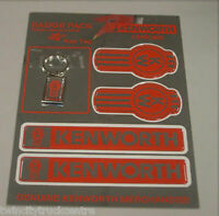 GENUINE KENWORTH STICKER BADGE PACK CHROME (BPACCHR0ME)