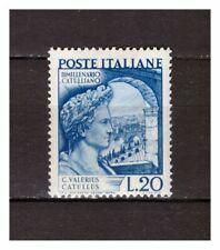 s21554) ITALIA 1949 MNH**Nuovi** Catullo 1v