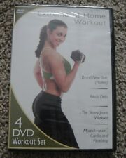 EXTREME WORKOUT 4 DVD SET BRAND NEW BUTT PILATES AKIDO DRILLS SKINNY JEANS