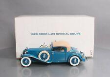Danbury Mint Die-Cast 1:18 Scale 1929 Cord L-29 Special Coupe Ln/Box