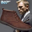 Swiss Alps Baker Suede Boots Desert Lace-up Men's Shoes Sole Crepe Oxford Autumn