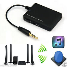 Wireless Bluetooth 4.0 Audio Stereo Music Receiver 3.5mm Car Aux Adapter A2DP US