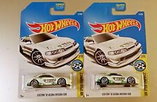 2017 Hot Wheels Custom 01' Acura Integra GSR (TEIN) No. 31 - White - Set of 2