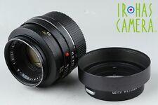 Leica Leitz Wetzlar Summicron-R 50mm F/2 1cam Lens for Leica R Mount #11118C1