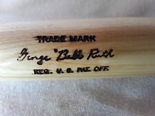 Babe Ruth hillerich & bradsby Reproduction 1927 notch bat-