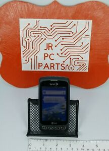 Lg Optimus S LS670 Android 2.2 Sprint Phone Grey Touchscreen Smart Phone