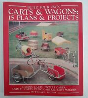 Vtg Build Your Own Carts & Wagons 15 Plans Projects William Sullivan Soft Cover
