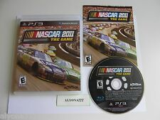 NASCAR The Game 2011 (Sony Playstation 3, 2011) Great Condition, Adult Owned
