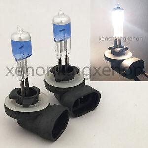 881 27W White 894 898 Xenon Halogen 5000K Headlight 2x Lamp Bulbs #c3 Fog Light