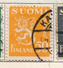 Finland 1930 Early Issue Fine Used 50p. 105540