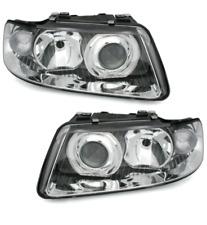 Audi A3 8L 8L1 FACELIFT Headlight Set Clear Glass 09 /00-03 XENON OPTIC LENS