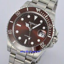 Parnis 40mm Japan Miyota Movement Sapphire Glass Men Automatic Submariner Watch