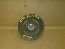 Honda Fit 09-13 Crank Pulley Crankshaft Harmonic Balancer WITH BOLT  OEM
