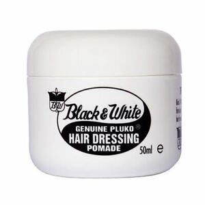 Black and White Hair Wax 50ml Travel Size Pot for Camping - Short Trips - Breaks