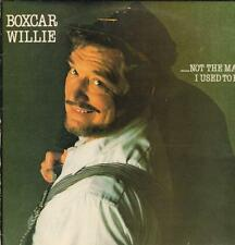 Boxcar Willie(Vinyl LP)Not The Man I Used To Be-Spartan-SPLP 002-UK-198-VG/VG