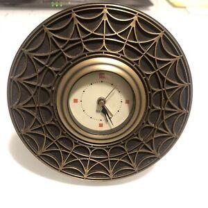 Frank Lloyd Wright Blossom House Table Top Clock 5 inches by Bulova B7763