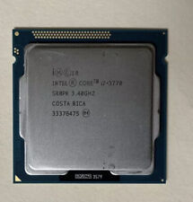 core i7-3770 3.40GHz  Quad Core Processor