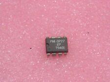 ci OP 27 EP ~ ic OP27EP  low-noise precision operational amplifier DIP8 (PLA037)