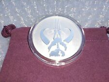 IN STOCK Niue 1 oz Silver $2 Star Wars: Mandalorian Mythosaur Coin Capsule Pouch