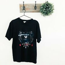 Kenzo Paris Black Tiger T-Shirt L