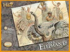 Hat 1/72 Scale Ancients Plastic War Elephants Set 8023 Boxed NEW!