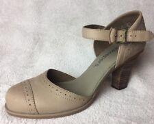 Women's Timberland Earthkeepers Strap Heels Shoes Beige / Brown UK 5.5 EU 38.5