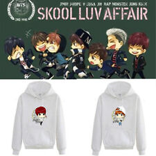 Kpop BTS Cap Hoodie Cartoon JUNG KOOK Sweater Sweatershirt Bangtan Boys Pullover