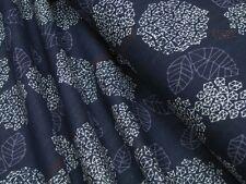 Baumwoll Stoff Kokka Trefle Cucito Hydrangea Double Gauze Quilt Stoff • 0,5m