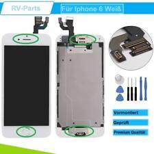 Display für iPhone 6 LCD mit RETINA Glas Scheibe KOMPLETT VORMONTIERT WEISS