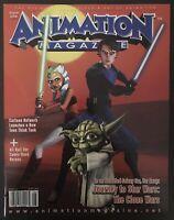 Animation Magazine August 2008 Predates Ahsoka Tano Clone Wars 1 Star Wars Comic
